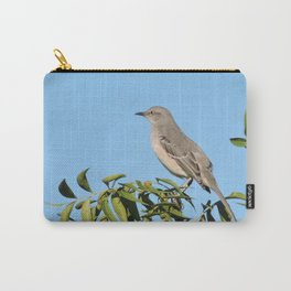 Northern Mockingbird Looks South Carry-All Pouch