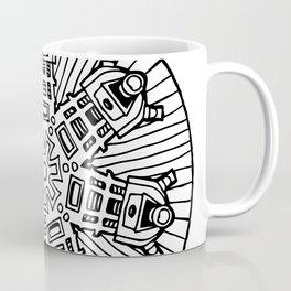 Mandalek - Dalek Mandala Coffee Mug