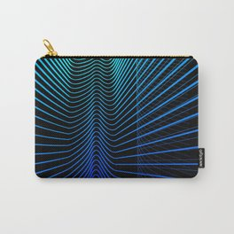"""Blue Light"" digital art by Diana Grigoryeva Carry-All Pouch"