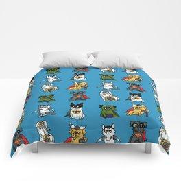 Superhero Puppies Comforters