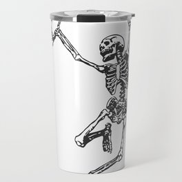 Dancer Skeleton Travel Mug