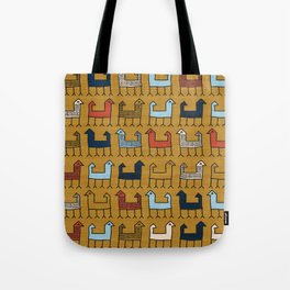 Zagros in Yellow Tote Bag