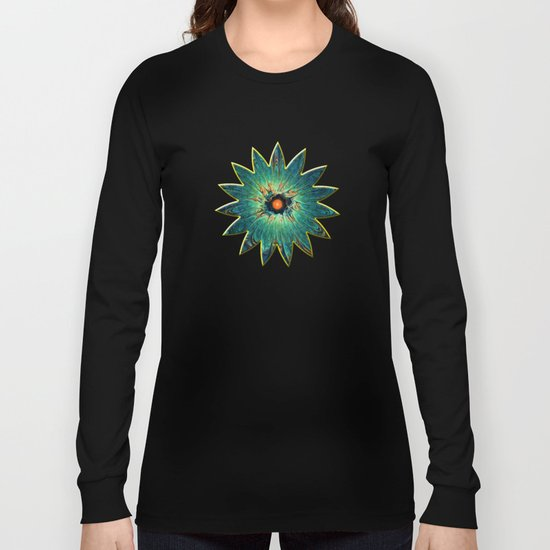 Green Piece Long Sleeve T-shirt