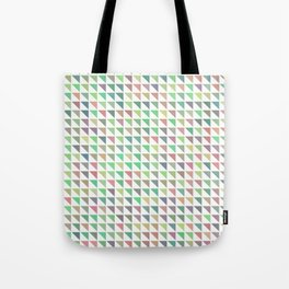 edge of autumn geometric pattern Tote Bag