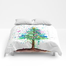 Happy Tree Comforters