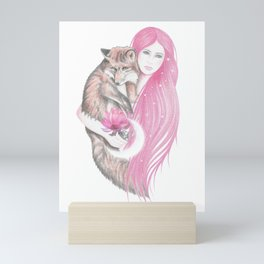 Red Fox Mini Art Print