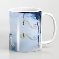 brand new Mugs featuring Brand New Day by Natalie Baca