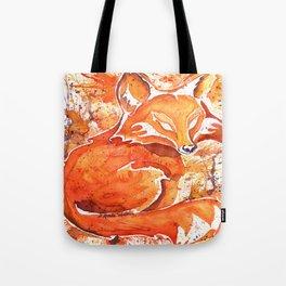 Fox (Spirit of the...) Tote Bag