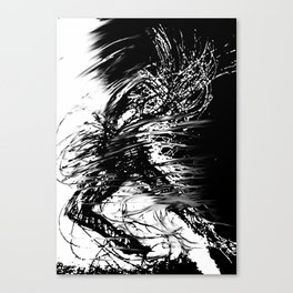 The Explosion Canvas Print
