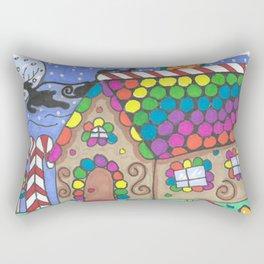 Gingerbread Night Rectangular Pillow