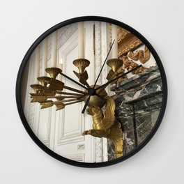Gilded Nonsense #3: Golden Griffin Wall Clock