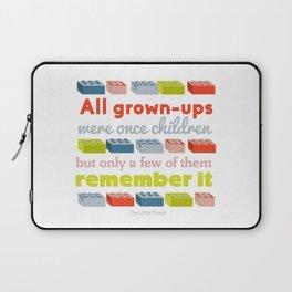 All grown ups were once children Laptop Sleeve