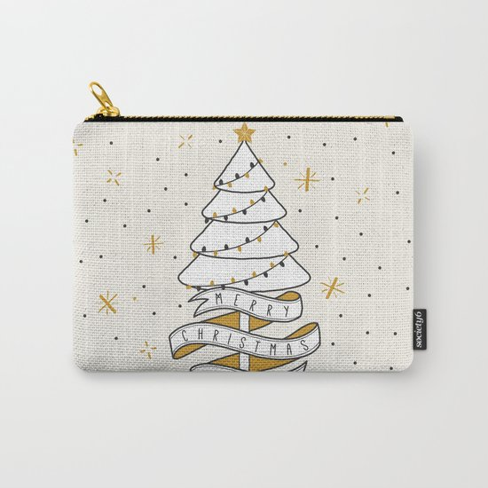 Merry Christmas To You Carry-All Pouch