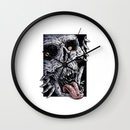 Terror Wall Clock