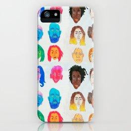 Strangers Blinking iPhone Case