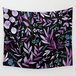 Eucalyptus Violet Wall Tapestry