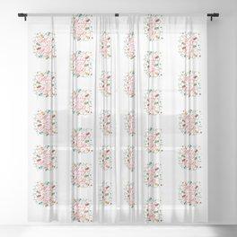 Merry & Bright Sheer Curtain