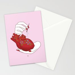 Heart - ( care for your soul ) Stationery Cards