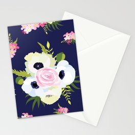 White bouquet Stationery Cards