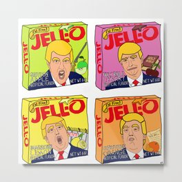 Trump Jell-O Art Metal Print
