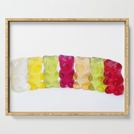 Gummy bears candy Serving Tray