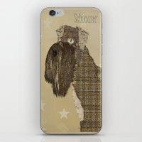 schnauzer iPhone & iPod Skins featuring Schnauzer  by bri.buckley
