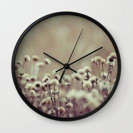 Shades of brown Wall Clock