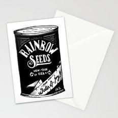 Rainbow Seeds Stationery Cards
