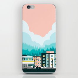 A View of 12th Avenue iPhone Skin