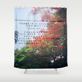 CHARLIE'S Shower Curtain