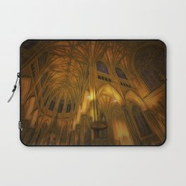 Cathedral Golden Light Laptop Sleeve