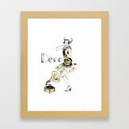 Flapper! Framed Art Print