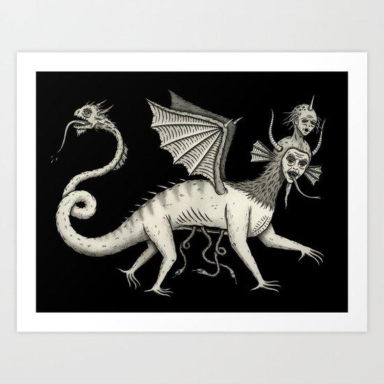 Vexadorae Art Print