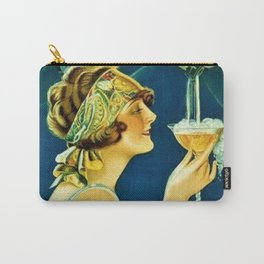 Vintage 1920's Calixtus Champagne Advertising Poster Carry-All Pouch