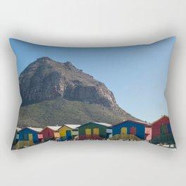 Muizenberg Beach Rectangular Pillow