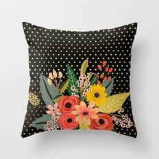Flowers bouquet #2 Throw Pillow