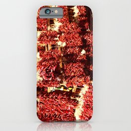 Red Chili Ristra And Gralic iPhone Case