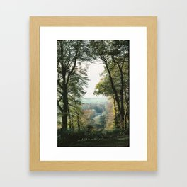 The Thames from Cliveden, England Framed Art Print