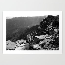Table Mountain Art Print