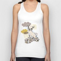 chihuahua Tank Tops featuring Chihuahua by Camille Roy