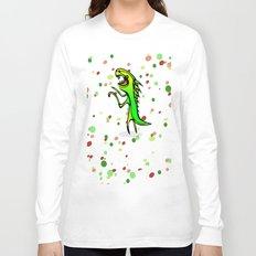 The Dinosaur says... RRRROOOWWRRR! Long Sleeve T-shirt