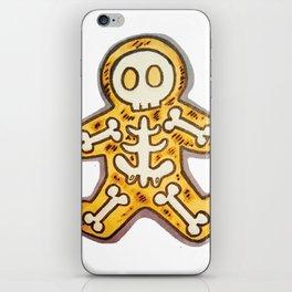 Burnt Christmas Cookie iPhone Skin