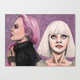 Maddie Ziegler gouache Canvas Print