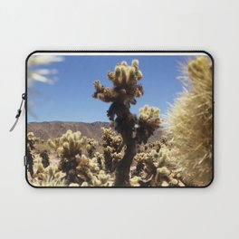 Joshua Tree Cholla Cactus Window #1 Laptop Sleeve
