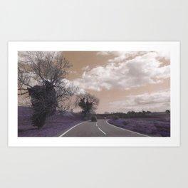 Journey to Skegness Art Print
