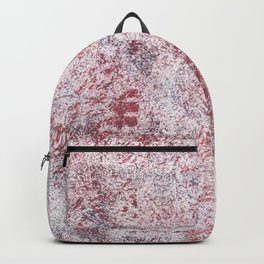 Queen pink abstract watercolor Backpack
