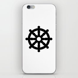 Dharmachakra 1 iPhone Skin