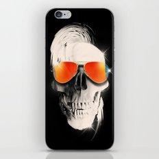 Summer Skull iPhone Skin