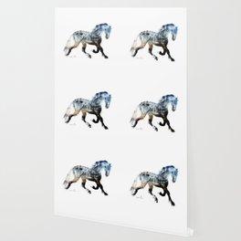 Horse (Summer Friesian) Wallpaper