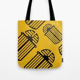 Scarab Pattern Tote Bag